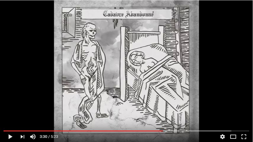 CRÉATURES - Cadavre abandonné (shortened version)