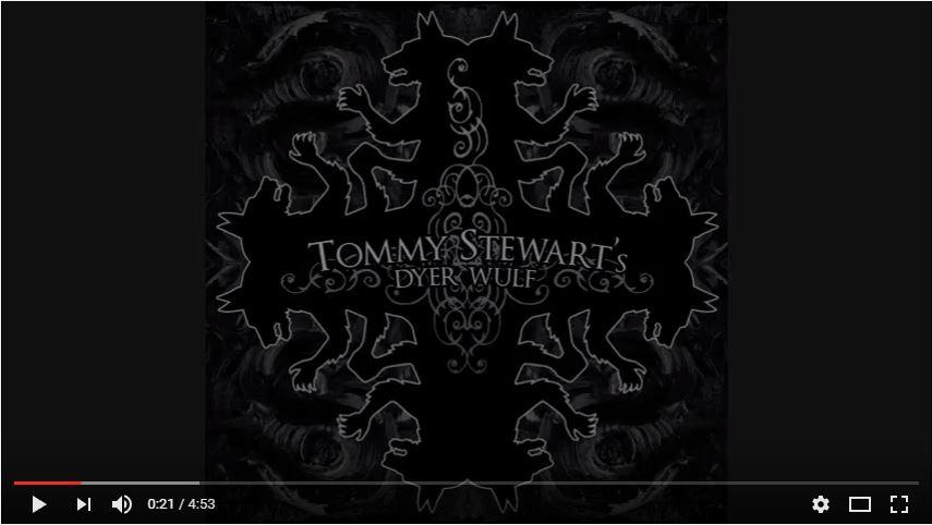 TOMMY STEWART'S DYERWULF - Lilith Crimson Deep