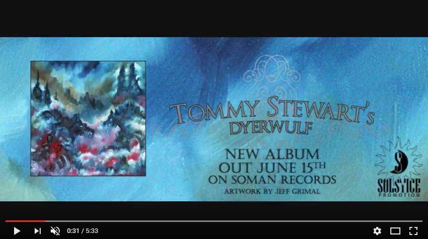 TOMMY STEWART'S DYERWULF - Through A Dead Man's Eye