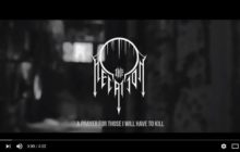 """THE NEGATION - A Prayer for those I will Have to Kill"""" (FULL VERSION)"""