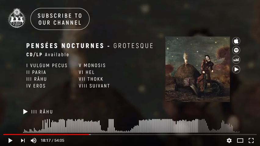 Pensées Nocturnes - Grotesque